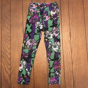 Girl's Lularoe Halloween Leggings - Unicorn!
